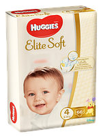 Подгузники Huggies Elite Soft 4, 8-14 кг, 66 шт. (5029053545301)