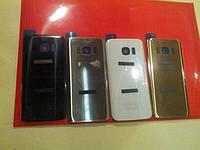 Задняя крышка Samsung G930F Galaxy S7, золотистая, оригинал (Китай)