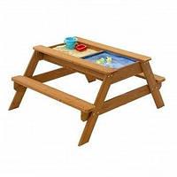 Детская деревянная песочница-стол (сосна) ТМ SportBaby Натуральное дерево Песочница - 2