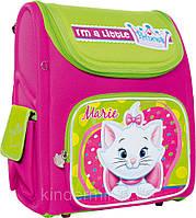 Ранец Disney школьный для девочки форма рюкзака короб ТМ 1 вересня  ортопедическая спинка 551675 М
