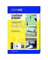 Бумага копировальная черная Economix E20501-01