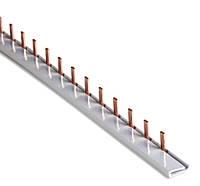 Шина соединительная PIN (штыревая) 1-ф (медная) 63А (1 метр)