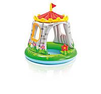 Детский надувной бассейн с навесом  Intex 57122 Королевский дворец 168x46 см