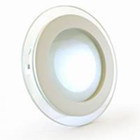 Светильник светодиодный Biom GL-R12 WW 12Вт круглый теплый белый, фото 1