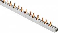 Шина соединительная PIN (штыревая)  3-ф (медная) 63А (1 метр)