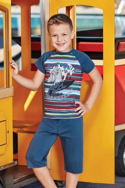 Комплект майка і шорти для хлопчика BERRAK 5333 на 5-6 років