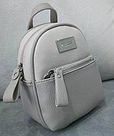 Модный и стильный рюкзак David Jones мини цвет серый