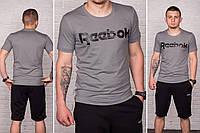 Костюм мужской спортивный шорты+футболка, разные цвета