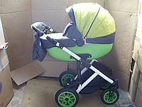 Коляска Kajtex Vertigo 360 2 в 1 K016 зеленый с серым, фото 1