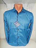 Рубашка мужская Enisse длинный рукав, под шелк, стрейч, заклёпки узор №1  007\ купить рубашку