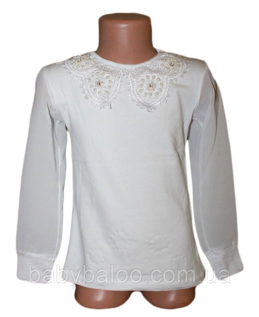 Блузка фатин рукава(12 лет)