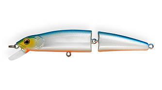 Воблер Strike Pro Minnow Jointed SM70 плавающий составной 7см 4,7гр Загл. 0,2м -0,7м #626E