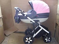 Коляска Kajtex Vertigo 360 2 в 1 K003 розовый с серым, фото 1