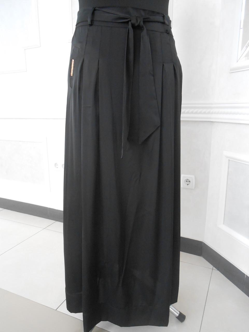 Юбка женская длинная черная