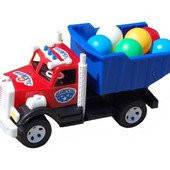 Детская машина Грузовик Bamsic 008-1, с шариками