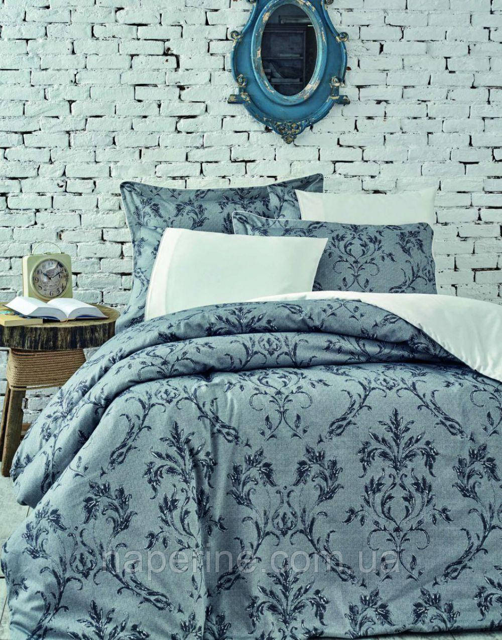 Постельное бельё VIP сатин-жаккард Ecocotton SAFIR евро размер - Na perine - интернет-магазин постельного белья и домашнего текстиля в Одессе