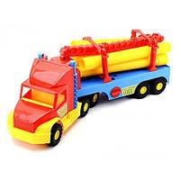 Детская Машина Грузовик Строительный Super Truck Wader 36540, машинка грузовик строительный Wader 36540