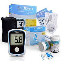 Глюкометр Elera Exactive Easy + 50 тест-полосок + 50 иголок.