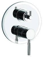 Смеситель встраиваемый для ванны Gllon SV008 на 2 два режима