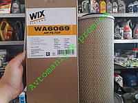 Воздушный фильтр WIX WA6069 (Iveco Ford Nissan) аналог Filtron AM406/1