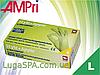Перчатки нитриловые салатовые, AMPri