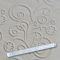 Скалка текстурная для мастики прозрачная  Д=13мм L= 207мм Empire EM8942  (Empire Эмпаир Емпаєр)