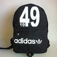 Рюкзак молодежный Adidas 1949, Адидас черный