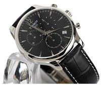 Мужские часы TISSOT Classik (Black) кварцевые черный циферблат корпус металл ремешок черный
