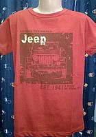 Брендовая футболка для мальчика JEEP.