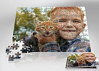 Печать изображений или фото на пазле 180х130 мм (A5)   на магните