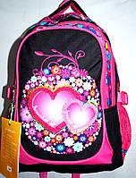 Школьный рюкзак Edison для девочек 32*46 (розоввый), фото 1