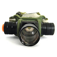 Фонарик налобный Police Bailong BL-6660 фонарь на голову на аккумуляторе