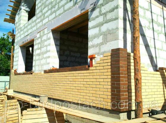 Отделки стен построенных из газобетона