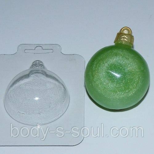 Пластикова форма для мила Куля/Простий