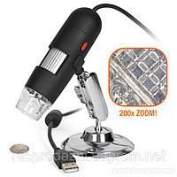 USB цифровой микроскоп 25X~200X
