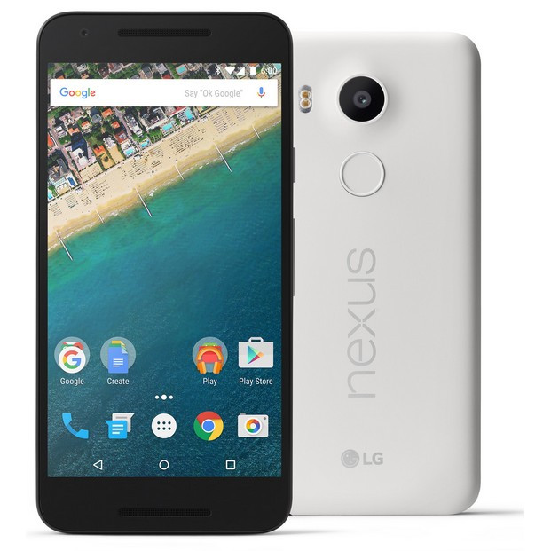 Смартфон LG H791 Nexus 5X 32GB (White)