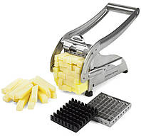 Машинка для нарезки картофеля фри, ручная картофелерезка Potato Chipper Металическая!