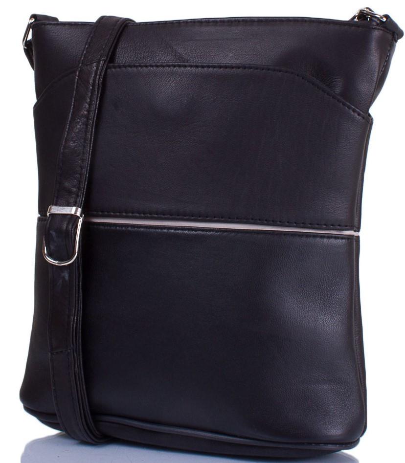 79583aa6987d Женская кожаная сумка-планшет TUNONA SK2406-2 черный - SUPERSUMKA интернет  магазин в Киеве