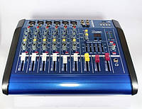 Профессиональный аудио микшерный пульт Mixer BT-6200D 7ch 7 ми канальный