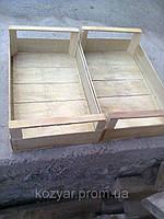 Ящики шпоновые деревяные для персика сшитый на станке CORALLI в Гнивани
