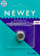 Наперсток 15 мм NEWEY хромовый в упаковке, Англия