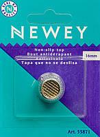 Наперсток 16 мм NEWEY хромовый в упаковке, Англия