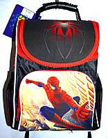 Детский каркасный школьный рюкзак для маличика 27*33 (Человек Паук)