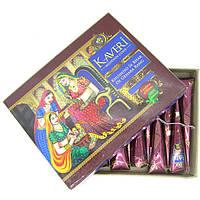 Натуральная хна для рисования по телу Кавери, Хна для росписи по телу мехенди / Kaveri Mehendi Cone /
