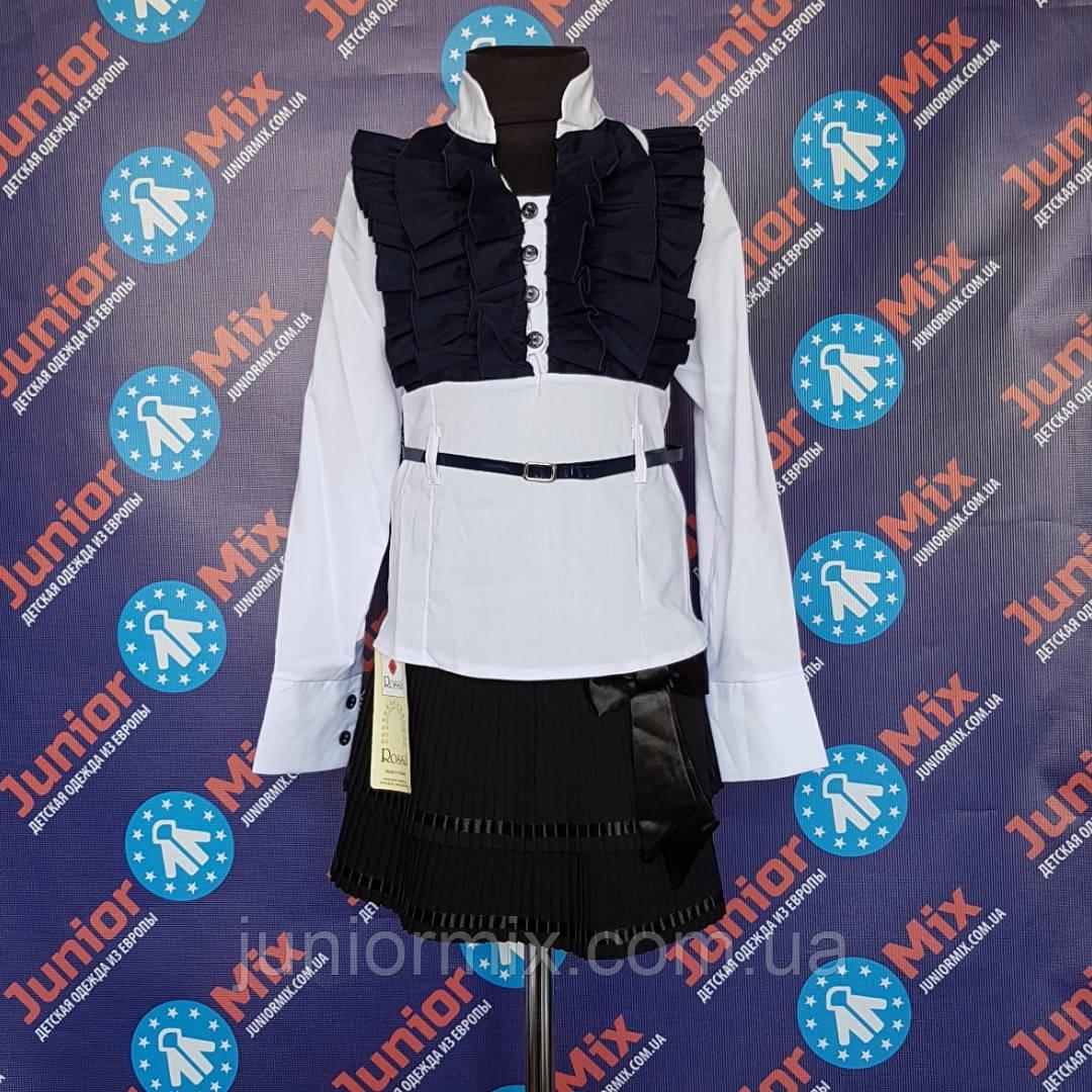 Школьная детская блузка для девочки  MARIATEX