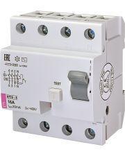 Реле дифференциальное ETI EFI6-4 25/0,03 тип AC