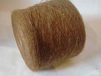 Пряжа IGEA,80%-мохер, 13%-РА, 5%-шерсть,коричневый цвет, Италия