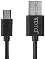 Кабель TOTO TKG-21 High speed USB cable microUSB 2m Black