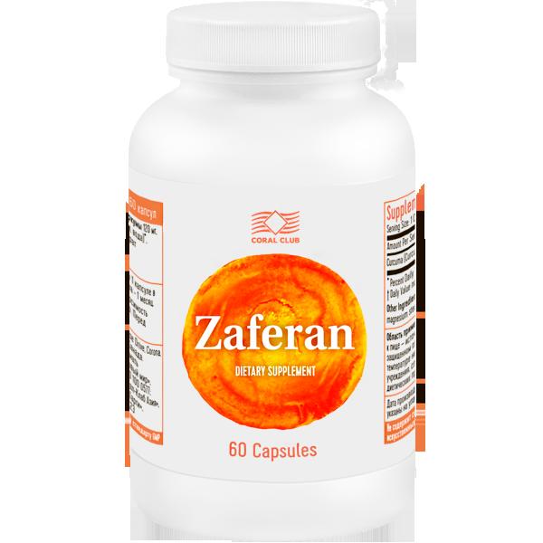 Заферан-Натуральный препарат для печени,гепатопротектор.КоралКлаб 60 капс