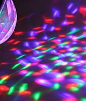 Диско лампа Laser Rotating lamp big 2034, светодиодная лампа